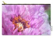 Radiant Orchid Peony Carry-all Pouch