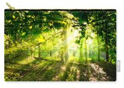 Radiant Sunlight Through The Trees Carry-all Pouch