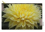 Radiant Yellow Dahlia Carry-all Pouch