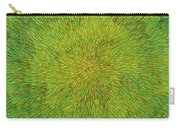 Radiation With Green Yellow And Orange  Carry-all Pouch