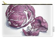 Refined Radicchio  Carry-all Pouch