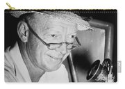 Radio Broadcaster Red Barber 1955 Carry-all Pouch