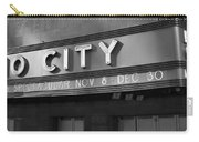 Radio City In Black And White Carry-all Pouch
