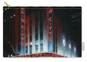 Radio City Music Hall In New York City Carry-all Pouch
