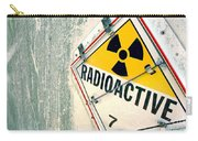 Radioactive Warning Sign Carry-all Pouch