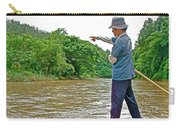 Rafting Guide On Mae Thang River Near Chiang Mai-thailand Carry-all Pouch