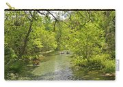 Rafting The Springs Carry-all Pouch