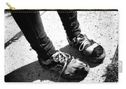 Ragged Shoes Carry-all Pouch