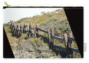 Rail Fence Black Carry-all Pouch