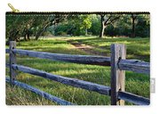 Rail Fence Scenic II Carry-all Pouch
