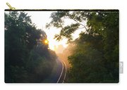 Rail Road Sunrise Carry-all Pouch