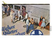 Railroad Ad, 1957 Carry-all Pouch