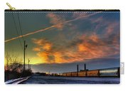 Railroad At Dawn Carry-all Pouch