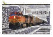 Railroad Bnsf Engine Photo Art Carry-all Pouch