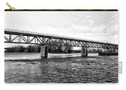 Railroad Bridge Over The Schuylkill River In Norristown Carry-all Pouch
