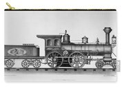 Railroad Engine, C1874 Carry-all Pouch