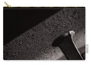 Railroad Spike And Rail Carry-all Pouch