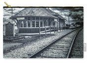 Railroad Ties Marlette Michigan Carry-all Pouch