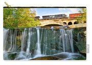 Railroad Waterfall Carry-all Pouch