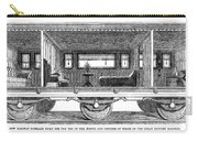 Railway Carriage, 1864 Carry-all Pouch