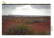 Rain At Monument Valley Carry-all Pouch