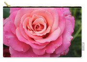 Rain Drenched Rose Carry-all Pouch