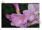 Rain Flower 1 Lavender Carry-all Pouch