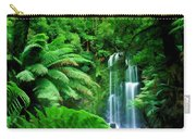 Rain Forest And Waterfall Carry-all Pouch