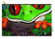 Rain Forest Frog Carry-all Pouch