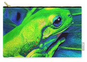 Rain Forest Tree Frog Carry-all Pouch