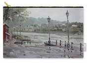 Rain In Lewiston Waterfront Carry-all Pouch