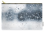 Rain In Winter Carry-all Pouch
