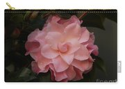 Rain Kissed Camellia Carry-all Pouch