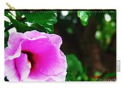 Rain Kissed Flower Carry-all Pouch