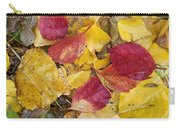 Rain Leaves Carry-all Pouch