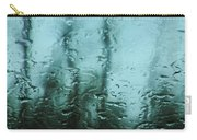 Rain On Bare Trees Carry-all Pouch