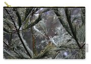 Rain On Pine Needles Carry-all Pouch