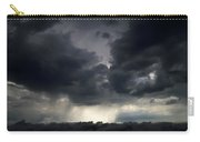 Rain Shafts From Thunderstorm Carry-all Pouch