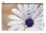 Rain Soaked Daisy Carry-all Pouch