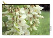 Rain-spangled Locust Flowers Carry-all Pouch