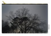 Rain Storm Clouds And Trees Carry-all Pouch