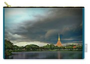 Rain Storm Lake View Carry-all Pouch