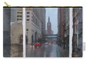 Rain Water Street W City Hall Carry-all Pouch