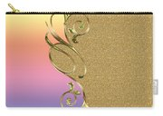 Rainbow And Gold Carry-all Pouch
