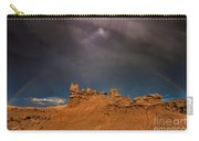 Rainbow And Sandstone Formations Fantasy Canyon Utah Carry-all Pouch