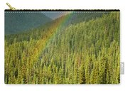 Rainbow And Sunlit Trees Carry-all Pouch