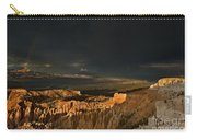 Rainbow And Thunderstorm Bryce Canyon National Park Ut Carry-all Pouch
