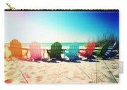 Rainbow Beach Photography Light Leaks1 Carry-all Pouch