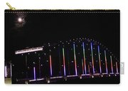 Rainbow Bridge And Super Moon Carry-all Pouch