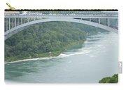Rainbow Bridge Over Niagara Carry-all Pouch
